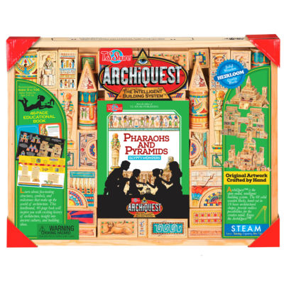 T.S. Shure - ArchiQuest 68 Piece Pharaohs and Pyramids, Egypt's Wonder