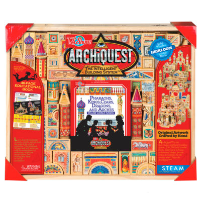 T.S. Shure - ArchiQuest Deluxe World Fusion 218 Piece Pharaohs, Kings, Czars, Dragons, and Arches