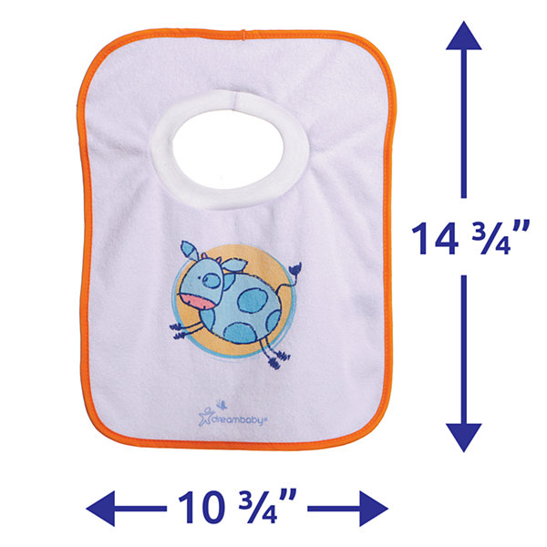 Dreambaby® Terry Cloth Pull Over Bibs 4 Pack Farm
