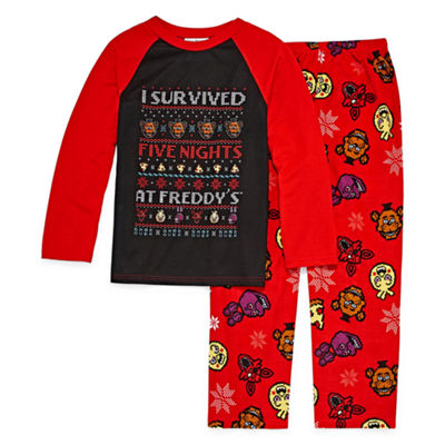 2-pc. Five Nights at Freddys Pajama Set Boys