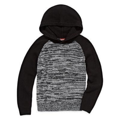 Arizona Long Sleeve Hooded Pullover Sweater - Big Kid