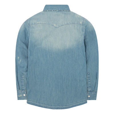 Levi's® ™ Long Sleeve Button-Front Shirt Boys