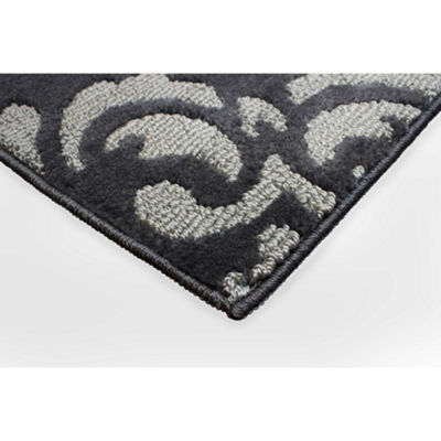 Jean Pierre Cut and Loop Portico Textured Decorative Rectangular Accent Rug