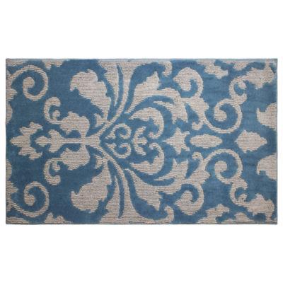 Jean Pierre Cut and Loop Rox Textured Decorative Rectangular Accent Rug