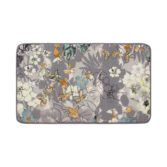Laura Ashley Ethereal High Definition Memory Foam Rectangular Accent Rug