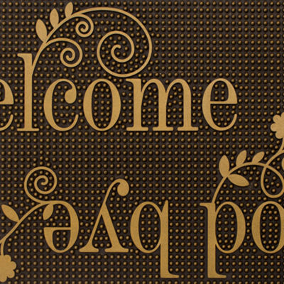 Storm Stopper Welcome & Goodbye Indoor/Outdoor Doormat
