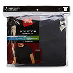 Hanes® Men's Stretch FreshIQ™ 3-pk. Short Sleeve Crew