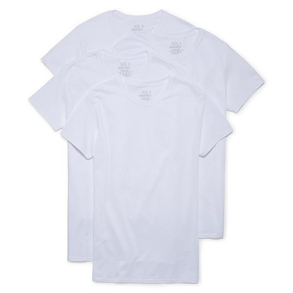 Fruit of the Loom Breathable 4-pc. Short Sleeve Crew Neck T-Shirt