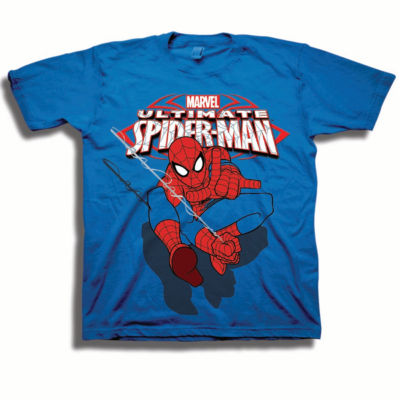 Toddler Boys Marvel Spiderman Ultimate Graphic T-Shirt