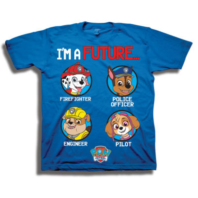 Toddler Boys S/S Paw Patrol Graphic T-Shirt