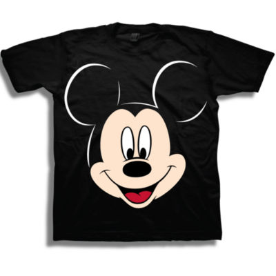 Toddler Boys S/S Mickey Mouse Face Graphic T-Shirt