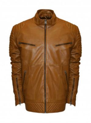 Raw X Moto Leather Jacket - Big & Tall
