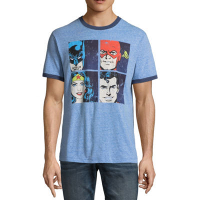 DC Justice League Square Graphic Tee