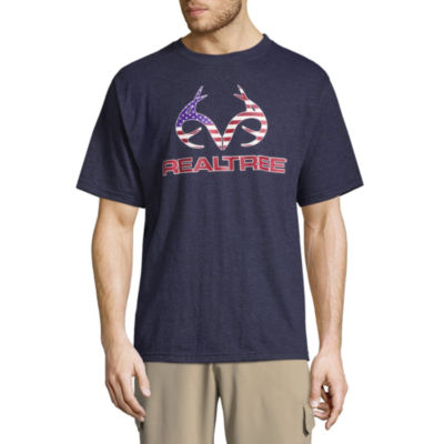 Realtree Americana Short Sleeve Crew Neck T-Shirt
