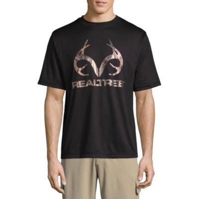 Realtree Mesh Short Sleeve Crew Neck T-Shirt