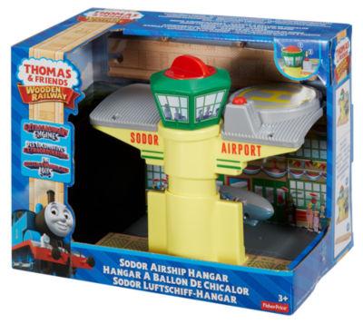 Thomas & Friends Wooden Railway Sodor airship Hangar