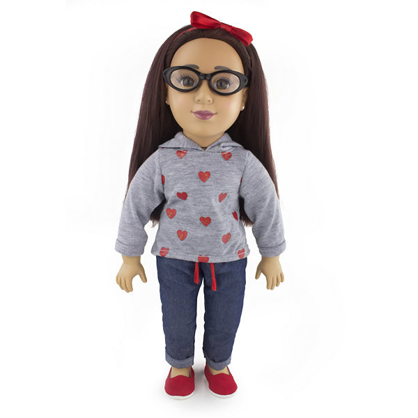 Funrise - Positively Perfect 18 Inch Latina Toddler Doll, Emily