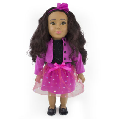 Funrise - Positively Perfect 18 Inch Latina Toddler Doll, Sofia