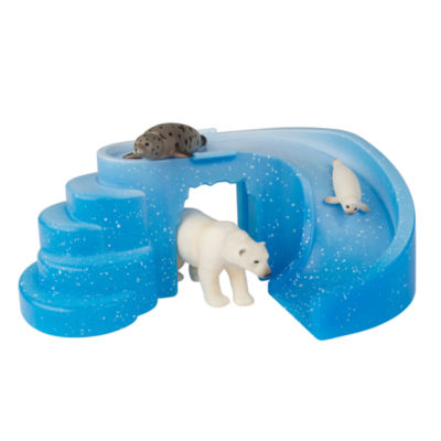 TOMY - ANIA Arctic Adventure Set with Iceberg, Seal with Baby and Polar Bear