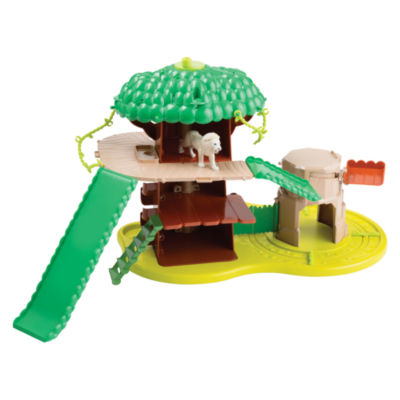 TOMY - ANIA Safari Adventure Set with White Lion