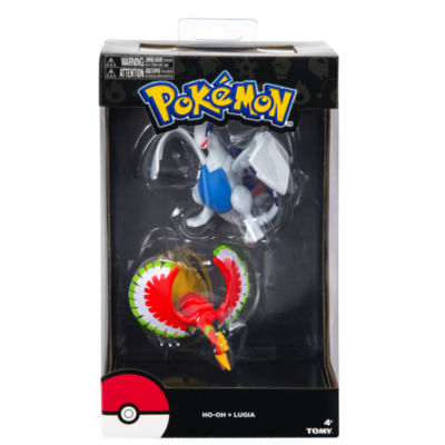 TOMY - Pokémon Trainer's Choice Large Legendary Figure Multi-Pack, Lugia and Ho-Oh