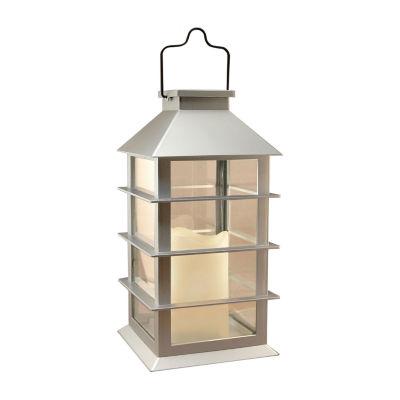 Solar Powered Lantern with LED Candle