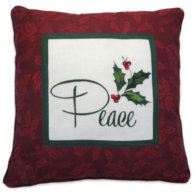 Lenox Holiday Nouveau Square Throw Pillow