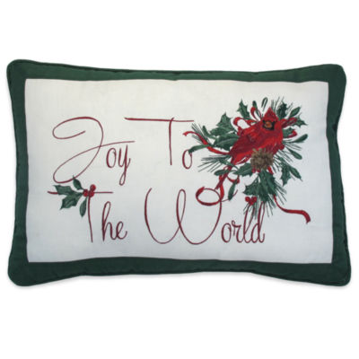 Lenox Winter Greetings Rectangular Throw Pillow