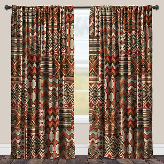 Laural Home Country Mood Navajo Room Darkening Window Curtain