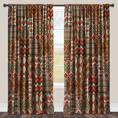Laural Home Country Mood Navajo Room Darkening Window Curtain