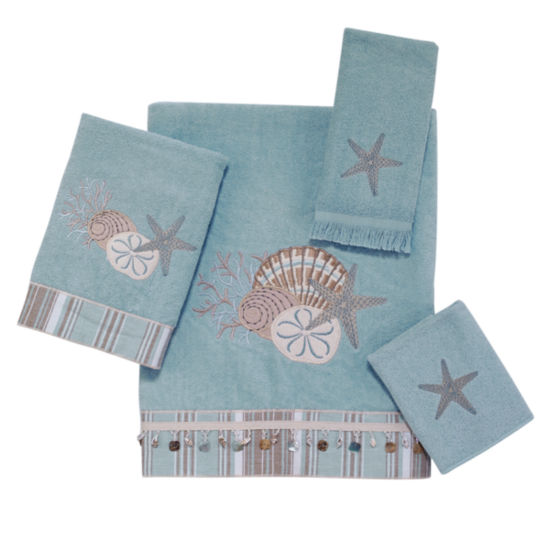 Avanti By The Sea Embroidered Bath Towel Collection