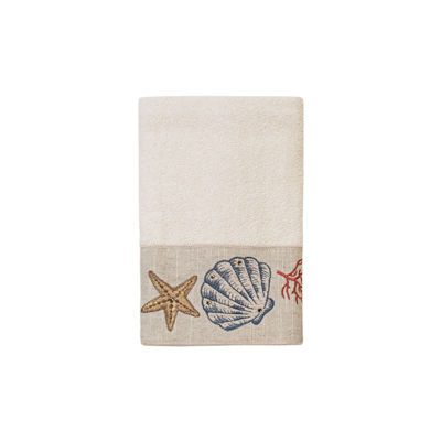 Avanti Sea Treasure Embroidered Bath Towel Collection