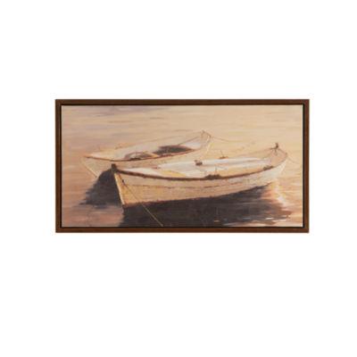 Madison Park Autumn Sails Gel Coat Framed Canvas Art