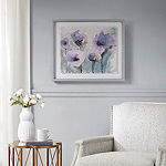 Madison Park Lilac Blooming Spring Frame Graphic Canvas Art