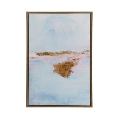 Madison Park Pastel Moor Framed Gel Coat Canvas