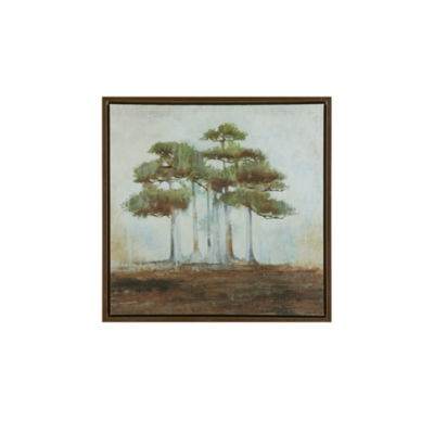 Madison Park Signature Bonsai Forest Framed Canvas