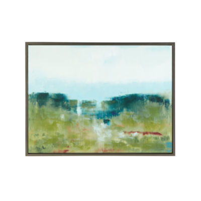 Madison Park Signature Morning Fields Framed Canvas