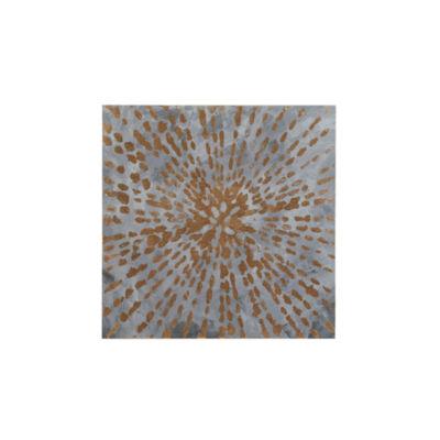 Urban Habitat Starburst Gel Coat Canvas With Gold Foil