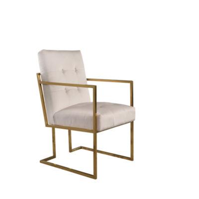 Devon & Claire Fraser Velvet Arm Chair