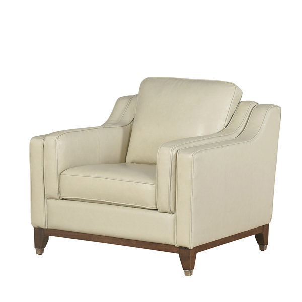Devon & Claire Edwards Top Grain Leather Armchair