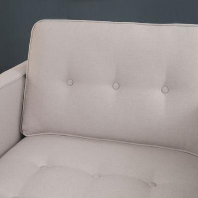 Devon & Claire Clinton Mid Century Tufted Armchair
