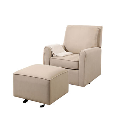 Devon & Claire Diaz Gliding Chair And Gliding Ottoman