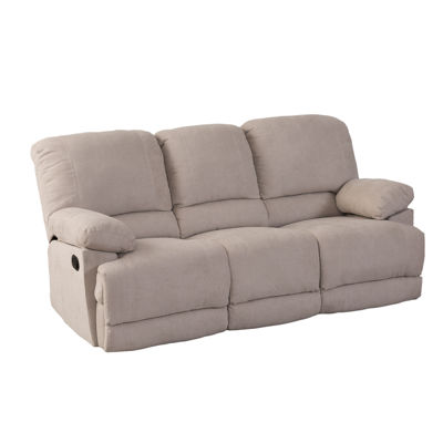 CorLiving Lea Chenille Fabric Reclining Sofa