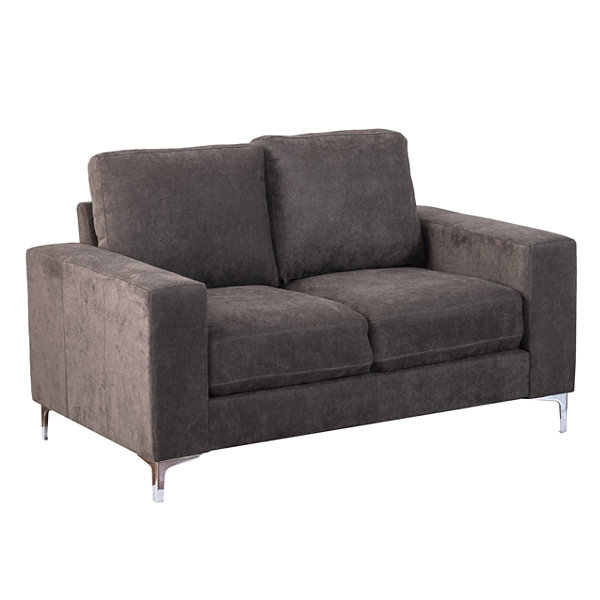 CorLiving Cory Chenille Fabric Loveseat
