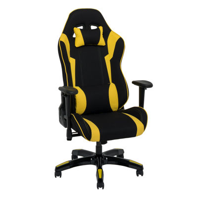 CorLiving High Back Ergonomic Height Adjustable Arms Gaming Chair