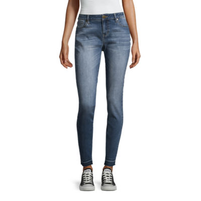 Project Indigo Skinny Jean with Released Hem