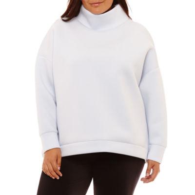 Project Runway Funnel Neck Sweatshirt - Plus