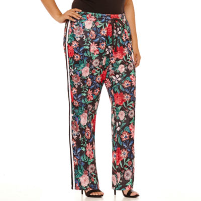 Project Runway Knit Track Pants-Plus