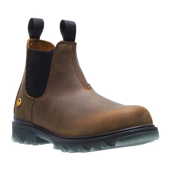 Wolverine Mens I-90 Waterproof Slip Resistant Work Boots