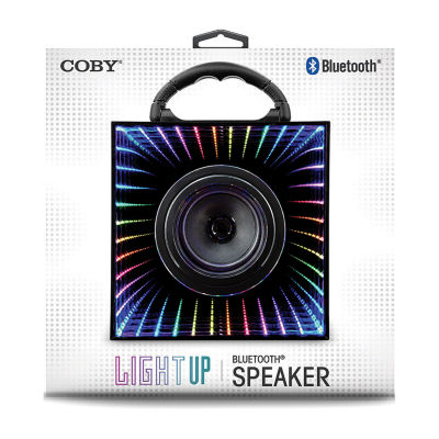 COBY Light-Up Bluetooth Mirror Speaker
